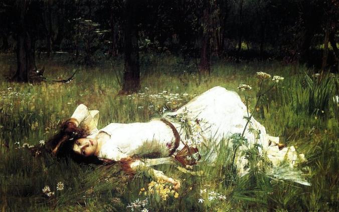 Ophelia,  1889