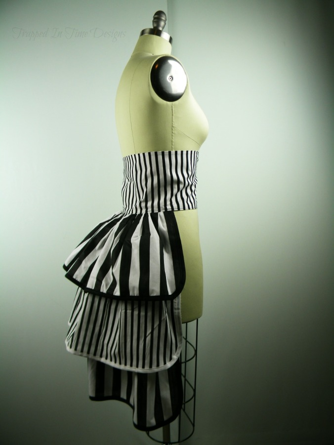 Striped Bustle