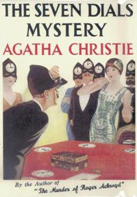 """The Seven Dials Mystery""--Agatha Christie"