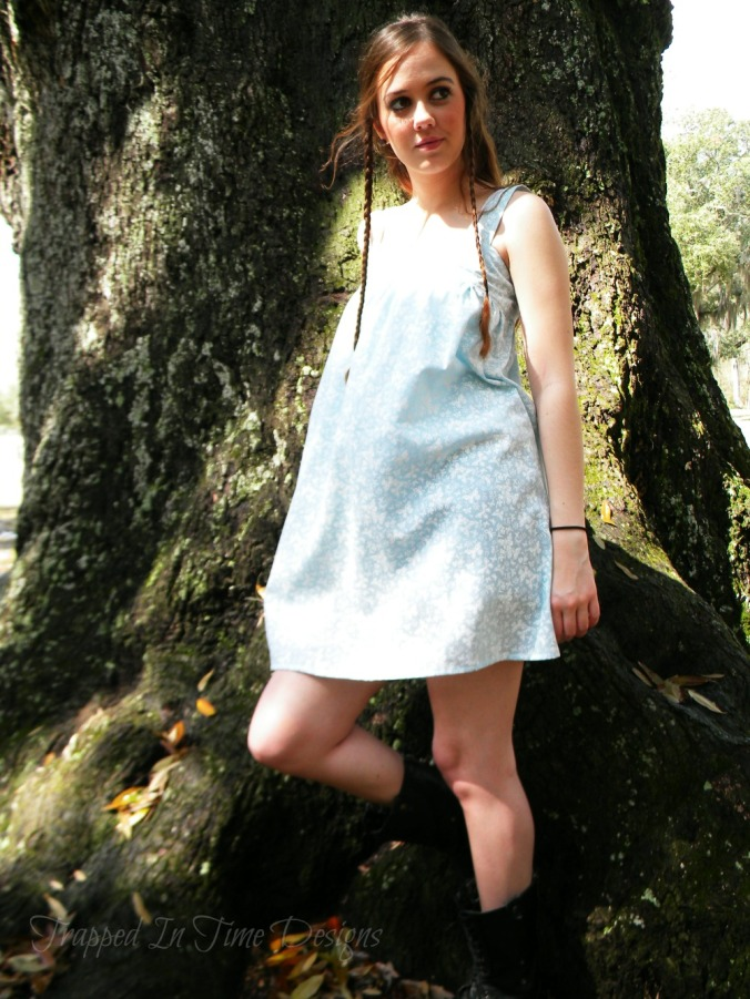 Butterfly Tunic Dress