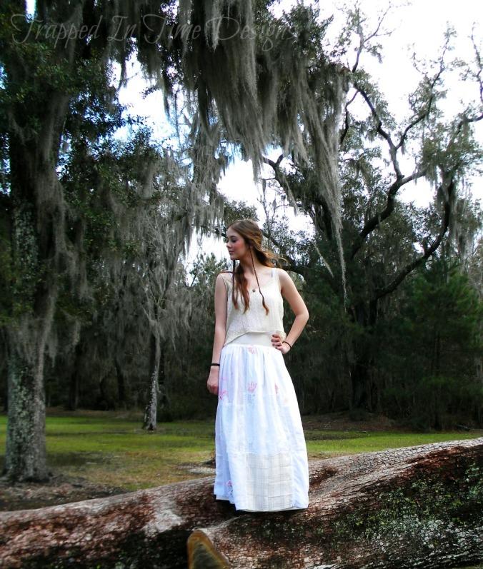 Vintage Handkerchief Skirt